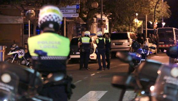 הפיגוע בקמברילס, צילום: אי פי איי