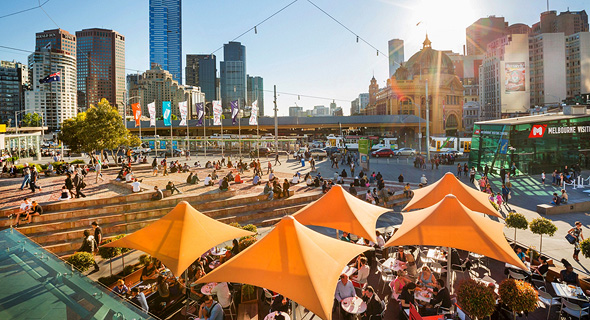 Melbourne, Australia. Photo: Australia.com