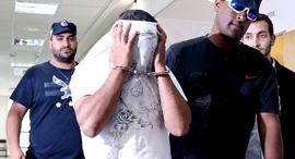 החשוד בסחיטת בנק יהב, צילום: אוראל כהן