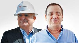 מימין קובי מימון ו יצחק תשובה, צילום: אוראל כהן, משה בנימין