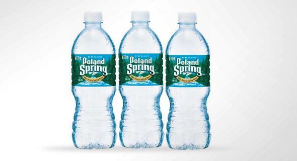בקבוקים של פולנד ספרינג
