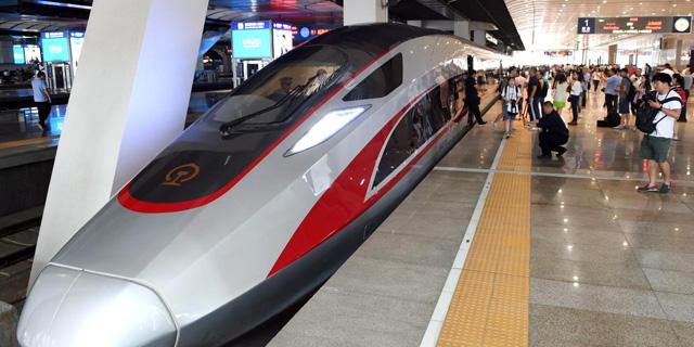 רכבת מהירה בסין, צילום: Xinhua