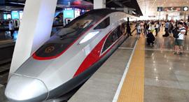 רכבת מהירה סין בייג'ינג שנגחאי, צילום: Xinhua