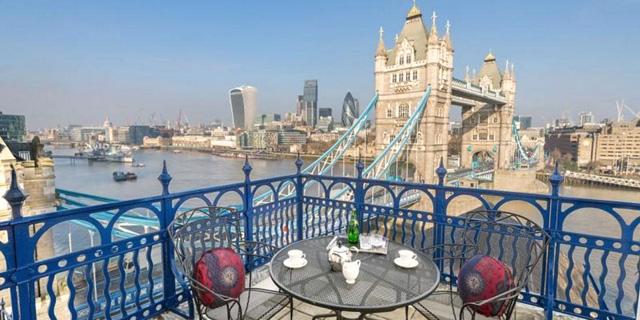 """הדירה המשקיפה לנוף הכי יפה בלונדון מוצעת ב-12.5 מיליון ליש""""ט"""
