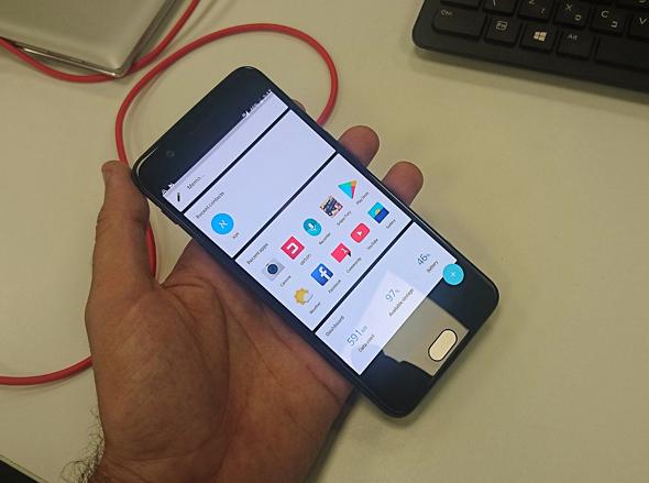 וואן פלוס 5 סמארטפון OnePlus 5, צילום: ניצן סדן