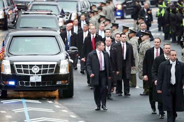 "סוכני השירות החשאי ארה""ב נשיא ארה""ב דונלד טראמפ 2, צילום: גטי אימג'ס"