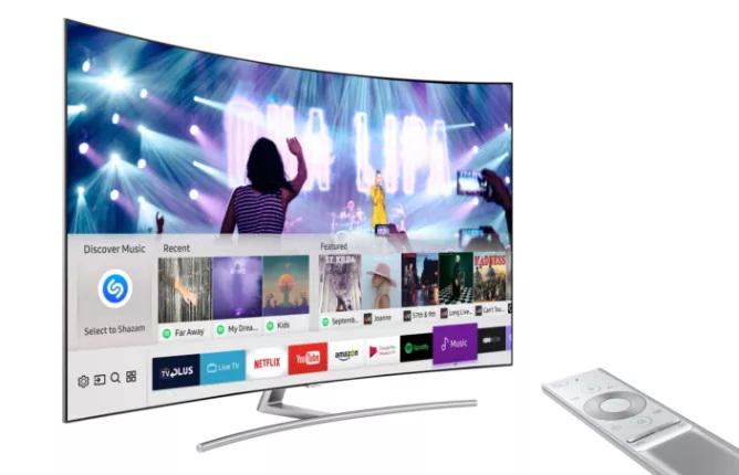 שזאם טלוויזיה סמסונג מסך, צילום: מבלוג Shazam