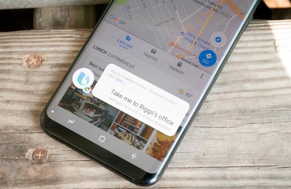 סמסונג ביקסבי סייעת חכמה הפעלה קולית, צילום: Android Central