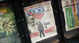 עיתון ווילג' וויס Village Voice ניו יורק , צילום: גטי אימג'ס