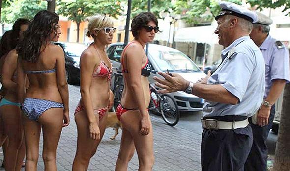 משמרת הצניעות, גירסת ברצלונה