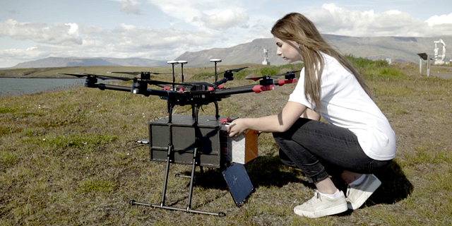 Tel Aviv-Based Flytrex Launches Airdrop Drone Delivery in Reykjavík, Iceland