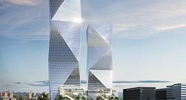 הדמיה למגדלים שיוקמו ב קריית עתידים, הדמיה: משרד משה צור אדריכלים