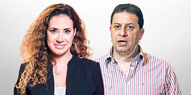"""מימין: רון אילון מנכ""""ל yes וטל גרנות גולדשטיין מנכ""""לית HOT, צילום: אריאל בשור, אוראל כהן"""