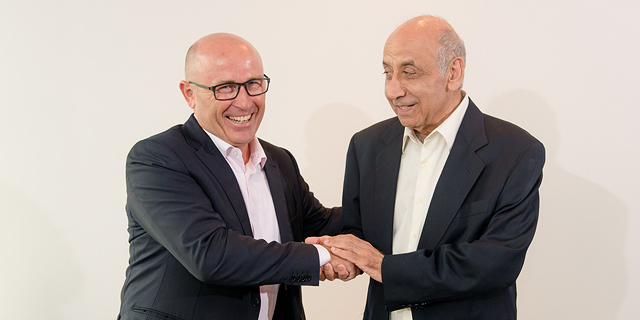 Skoda CEO Bernhard Maier and ChampionMotors Chairman Yitzchak Suari. Photo: PR