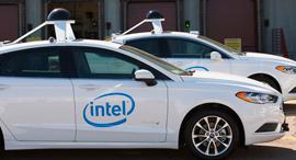 מכוניות אוטונומיות של אינטל, צילום: Intel Newsroom