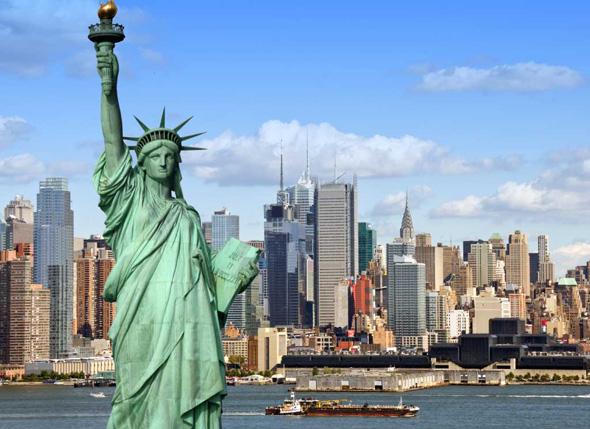 ניו יורק. העושר עדין מרוכז ברובו בצפון אמריקה