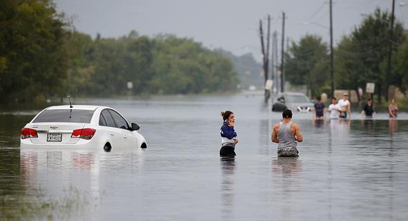הצפות בטקסס בעקבות הוריקן הארווי, בשנה שעברה