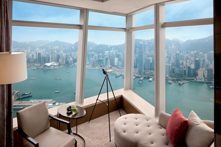 מלון Ritz Carlton, הונג קונג