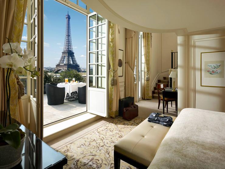 מלון shangri la בפריז