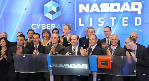 הנפקת סייברארק מ-2017 , צילום: NASDAQ