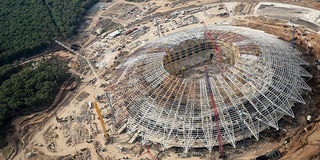 רוסיה 2018: ספקות לגבי מוכנותו של האצטדיון בסמרה