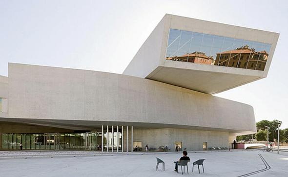מוזיאון MAXXI שתכננה זאהה חדיד
