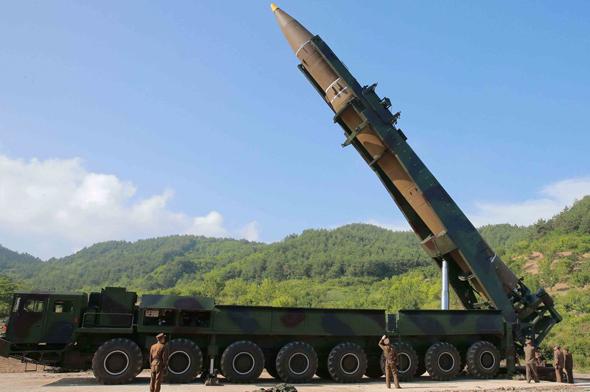 טיל קרקע-קרקע קוריאני מדגם Hwasong 14
