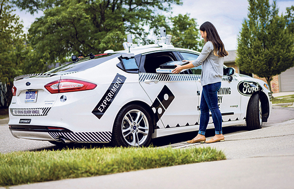 רכב אוטונומי של פורד