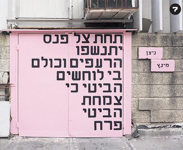 """""""תחת צל פנס"""", קריית המלאכה, תל אביב, 2015"""