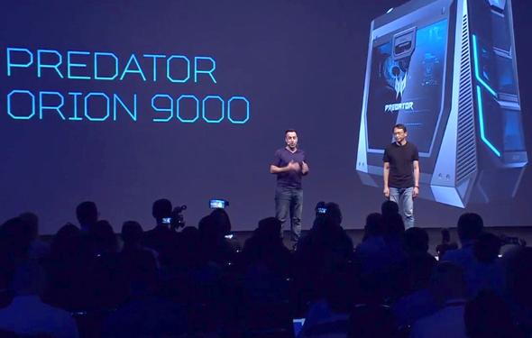 מחשב גיימינג חזק במיוחד, צילום: ACER