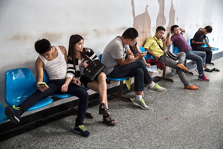 מובטלים בסין, צילום: Getty