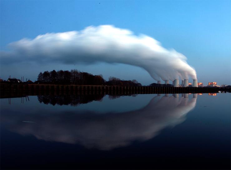 תחנת כוח פחמית בגרמניה, צילום: רויטרס