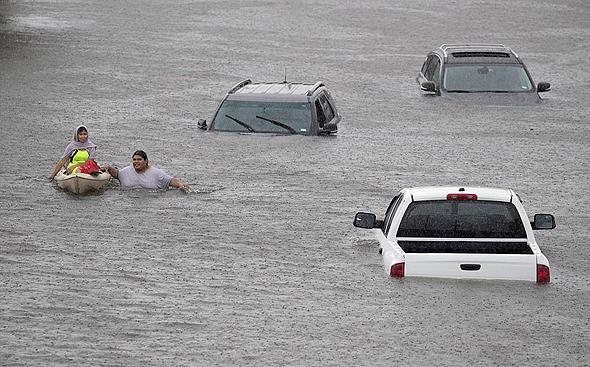 הצפות ביוסטון שגרמה הסופה