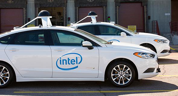 Intel autonomous cars