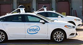 מכונית אוטונומית של אינטל, צילום: אינטל