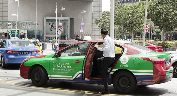 מונית של גראב בסינגפור