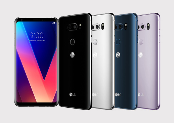 LG V30 פאבלט פאבלטים 1, צילום: LG