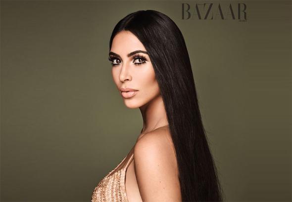 Reality TV star Kim Kardashian. Photo: Bazaar