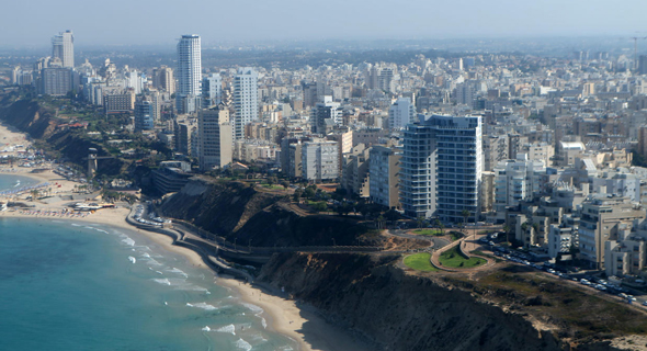 Netanya's skyline. Photo: Amit Sha'al