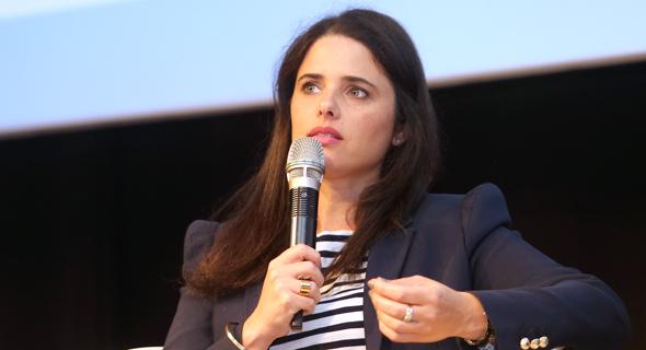 שרת המשפטים איילת שקד בוועידה הכלכלית הלאומית של כלכליסט