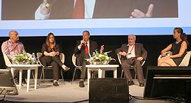 הוועידה הכלכלית הלאומית 2017 פאנל החברות שמשנות את עולם ההשקעות, צילום: נמרוד גליקמן