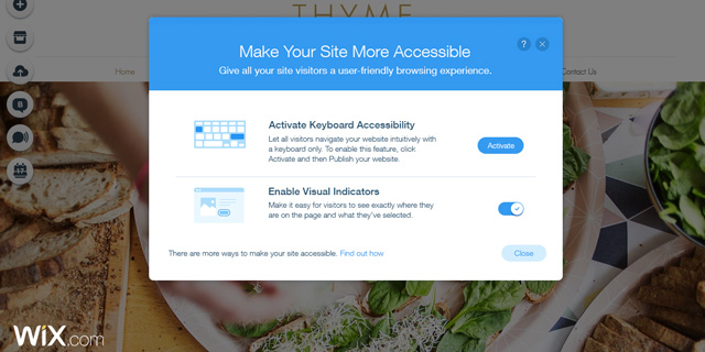 חדש ב-Wix: כלים חינמיים להנגשת אתרים לאנשים עם מוגבלויות