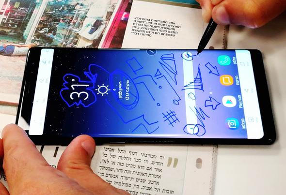 מכשיר ה-Note 8 של סמסונג
