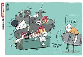 קריקטורה 6.9.17, איור: יונתן וקסמן