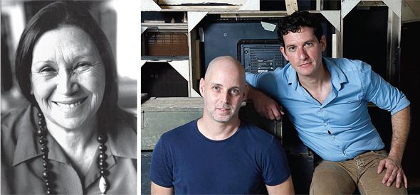 מימין: גיורא יהלום ואורן יעקובי (משמאל: נעמי שמר). גילינו דמות פחות מוכרת, צילום: עמית שעל, שלום בר טל