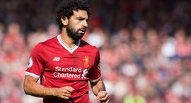מוחמד סאלח שחקן ליברפול נבחרת מצרים, צילום: איי פי אי