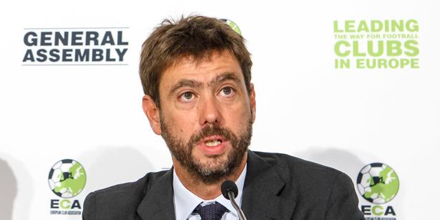 בעלי יובנטוס, אנדראה אניילי, מונה לנשיא איגוד מועדוני הכדורגל באירופה