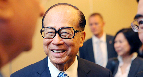Hong Kong billionaire Li Ka-shing