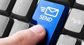 אימייל מייל מקלדת שלח SEND, צילום: שאטרסטוק