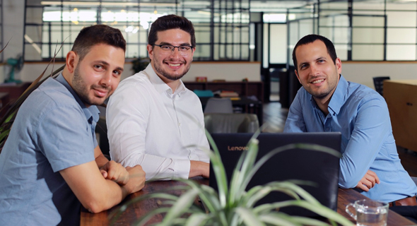 Left to right: Axonius co-founders Avidor Bartov, Dean Sysman, Ofri Shur